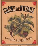 "D9322 "" CREME DE NOYAUX - QUALITE SUPERIEURE"" ETICHETTA ORIGINALE, FINE XIX SEC. - Altri"