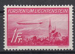 LIECHTENSTEIN - Michel - 1936 - Nr 149 - MH* - Poste Aérienne