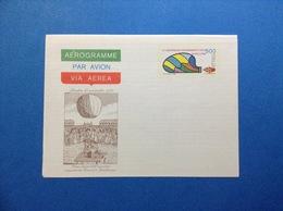 1983 ITALIA AEROGRAMMA POSTALE NUOVO NEW MNH** ESPERIMENTO VOLO IN PALLONE 500 LIRE - Interi Postali