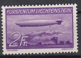LIECHTENSTEIN - Michel - 1936 - Nr 150 - MH* - Poste Aérienne