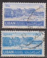 Temples De Baalbeck, Site Archéologique - LIBAN - N° 84-85 -1952 - Libanon
