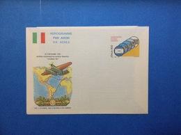 1990 ITALIA AEROGRAMMA POSTALE NUOVO NEW MNH** LIVORNO MOSTRA DI FILATELIA TEMATICA MANIFESTAZIONE 800 LIRE - 6. 1946-.. Repubblica