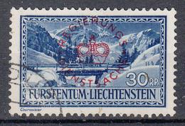 LIECHTENSTEIN - Michel - 1934 - Nr 16 - Gest/Obl/Us - Service