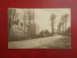 Ypres - Ieper - Vlamertinghe  Rue De Poperinghe - Poperinghe Straat   ( 2 Scans ) - Ieper