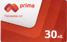 Bulgaria - Pripa Prepaid Card 30 Leva - Bulgarie
