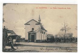 58. Kortrijk  COURTRAI. - La Petite Chapelle Au Puits 1911 - Kortrijk
