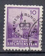 LIECHTENSTEIN - Michel - 1934 - Nr 12 - Gest/Obl/Us - Service