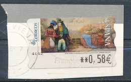 SPANIEN Mi.Nr. 169 Automatenmarken -  Gemälde Sammer-Galerie - 1931-Heute: 2. Rep. - ... Juan Carlos I