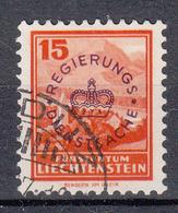LIECHTENSTEIN - Michel - 1934 - Nr 13 - Gest/Obl/Us - Service