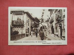 Spain > Cataluña > Barcelona    Exposicion Ibero Americana  Ref 3418 - Barcelona