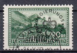 LIECHTENSTEIN - Michel - 1934 - Nr 18 - Gest/Obl/Us - Service