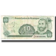 Billet, Nicaragua, 10 Centavos, KM:169a, TTB - Nicaragua