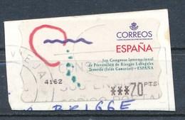 Spanien Automatenmarke 70 C. Internationaler Kongress Für Berufliche Risiken Teneriffa - 1931-Heute: 2. Rep. - ... Juan Carlos I