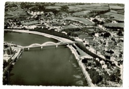 Neuville Sur Saône - Vue Panoramique Aérienne - Circulé Sans Date, Sous Enveloppe - Neuville Sur Saone