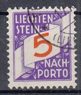 LIECHTENSTEIN - Michel - 1928 - Nr 13 - Gest/Obl/Us - Taxe