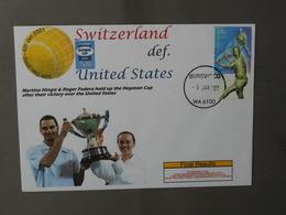 Tennis, Hopman Cup, Martina Hingis, Roger Federer - Tennis