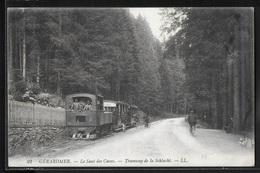 CPA 88 - Gérardmer, Le Saut Des Cuves - Tramway De La Schlucht - LL - Gerardmer