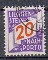 LIECHTENSTEIN - Michel - 1928 - Nr 16 - Gest/Obl/Us - Taxe
