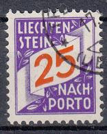 LIECHTENSTEIN - Michel - 1928 - Nr 17 - Gest/Obl/Us - Taxe