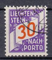 LIECHTENSTEIN - Michel - 1928 - Nr 18 - Gest/Obl/Us - Taxe