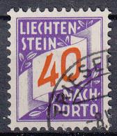 LIECHTENSTEIN - Michel - 1928 - Nr 19 - Gest/Obl/Us - Taxe