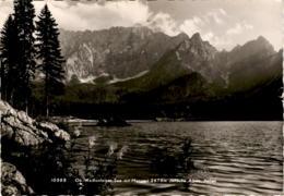 Ob. Weißenfelser See Mit Mangart - Julische Alpen, Italien (19595) - Italy