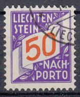 LIECHTENSTEIN - Michel - 1928 - Nr 20 - Gest/Obl/Us - Taxe
