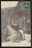 CPA 88 - Col De La Schlucht, Le Tramway électrique Descendant La Schlucht - Autres Communes