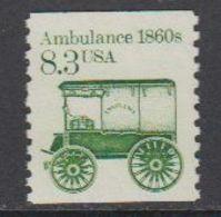 USA 1985 Ambulance 1860s 1v ** Mnh (43133) - Verenigde Staten