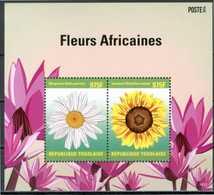 TOGO / TOGOLAISE 2014** - Fiori / Flowers - Block Di 2 Val. MNH, Come Da Scansione. - Flora