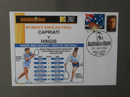 Tennis, Australian Open, Martina Hingis, Jennifer Capriati - Tennis