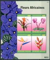 TOGO / TOGOLAISE 2014** - Fiori / Flowers - Block Di 4 Val. MNH, Come Da Scansione. - Flora