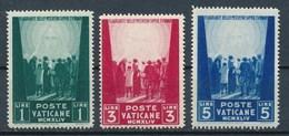Vatican 1949 Mi. 153 - 155 Postfr. Opfer Des Krieges - Ungebraucht