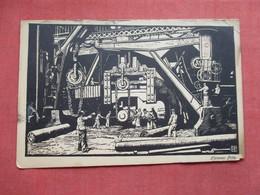 Essen, Kruppscher Betrieb Mit Hammer Fritz,    Ref 3419 - Industry