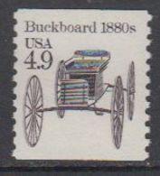 USA 1985 Buckboard 1980s 1v ** Mnh (43133C) - Verenigde Staten