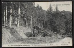 CPA 88 - Retournemer Et Longemer, Le Tramway Descendant De La Schlucht Arrive à Retournemer - Altri Comuni