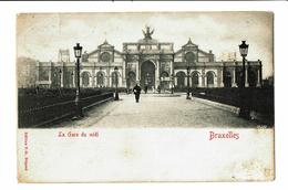 CPA - Carte Postale - Belgique -Bruxelles - Gare Du Midi - 1905? VM3525 - Transport Urbain En Surface