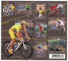RC 12123 FRANCE BF N° F4755 TOUR DE FRANCE 100e EDITION VELO CYCLISME BLOC FEUILLET NEUF ** A LA FACIALE - Blocs & Feuillets
