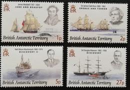 British Antarctic Territory 2008 Explorers And Ships LOT - Stamps