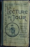 L Villain - L. Comtois - G. Loiret - La Lecture Du Jour - Librairie Charles Delagrave - 200 Lectures / 200 Illustrations - Bücher, Zeitschriften, Comics