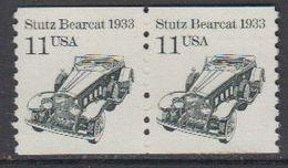 USA 1985 Stutz Bearcat 1v  (pair) ** Mnh (43133H) - Verenigde Staten
