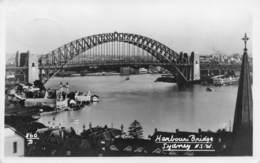 "M08225 ""HARBOUR BRIDGE-SIDNEY-N.S.W. "" CART. ORIG. SPED. 1953 - Sydney"