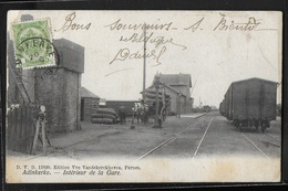 CPA BELGIQUE - Adinkerke, Intérieur De La Gare - De Panne
