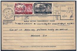Gran Bretagna/Grande-Bretagne/Great Britain: Telegramma, Telegram, Télégramme, Castello, Castle, Château - Castelli