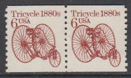 USA 1985 Tricycle 1880s 1v (pair) ** Mnh (43133K) - Verenigde Staten
