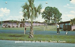 South Of The Border, South Carolina Pedro's Tennis Courts - United States