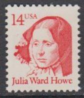 USA 1987 Julia Ward Howe 1v ** Mnh (43134) - Verenigde Staten