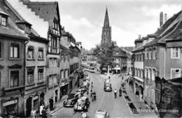 "M08227 ""FREIBURG I. BR. OBERLINDEN""ANIMATA - AUTO ANNI '40 CART. ORIG. SPED. 1956 - Freiburg I. Br."