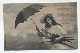 64 - BAYONNE - Rare - Carte Pub. Jean Lapeyre (Parapluie ) - - Bayonne