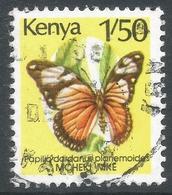 Kenya. 1988 Butterflies. 1/50 Used. SG 440a - Kenya (1963-...)